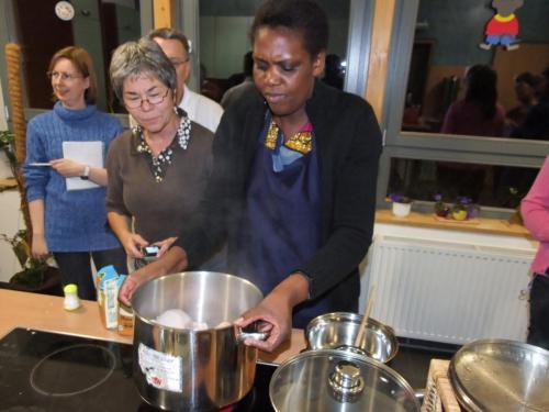 Sambisch Kochen Oktober 2008