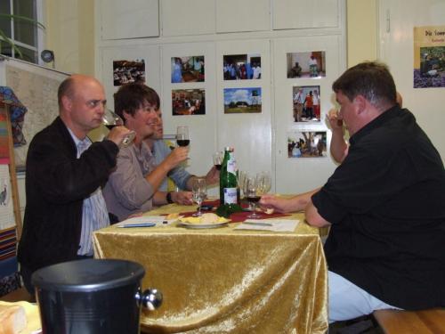 Weinprobe September 2010