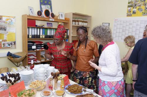 fair Schlemmen - Sambischer Besuch Mai 2017